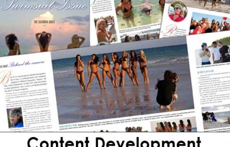 Content Development - BS Swinsuit 2012 Randall Kenneth Jones