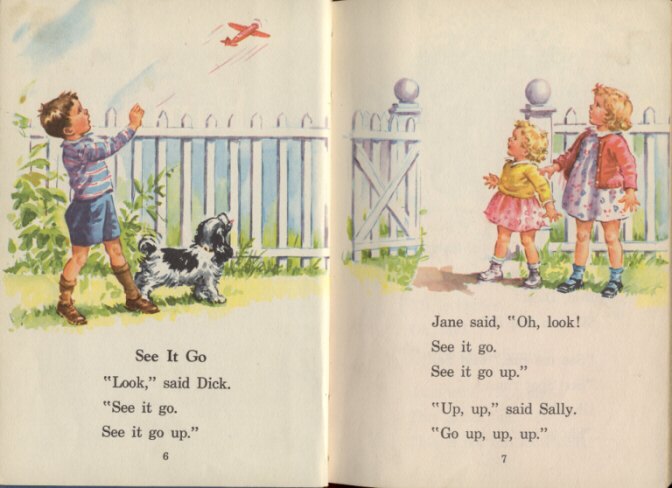 Dick Jane and Sally