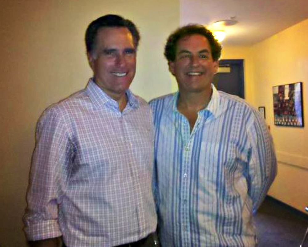 Professional coutesy in politics Mitt Romney and Randall Kenneth Jones