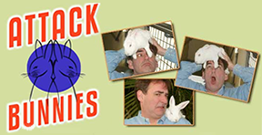 Attack Bunnies by Randall Kenneth Jones