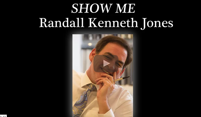SHOW ME Introduction Video Randall Kenneth Video